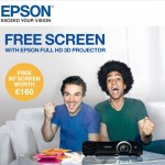 Get a Free Scrren Projector with Epson